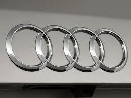 Audi badge.