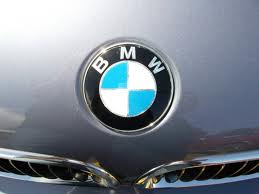 BMW badge.
