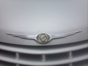 Chrysler badge.