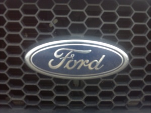 Ford badge.