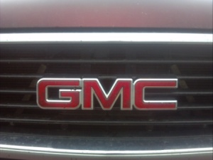 GMC badge.