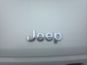 Jeep badge.