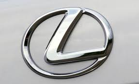 Lexus badge.