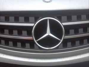 Mercedes logo.