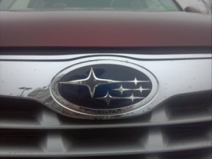 Subaru badge.